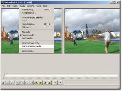 Режимы обработки видео и аудио